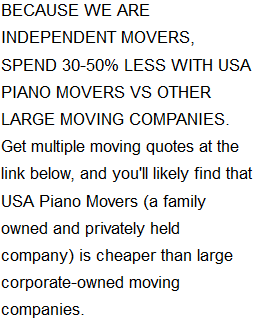 Compare Piano Mover Quotes